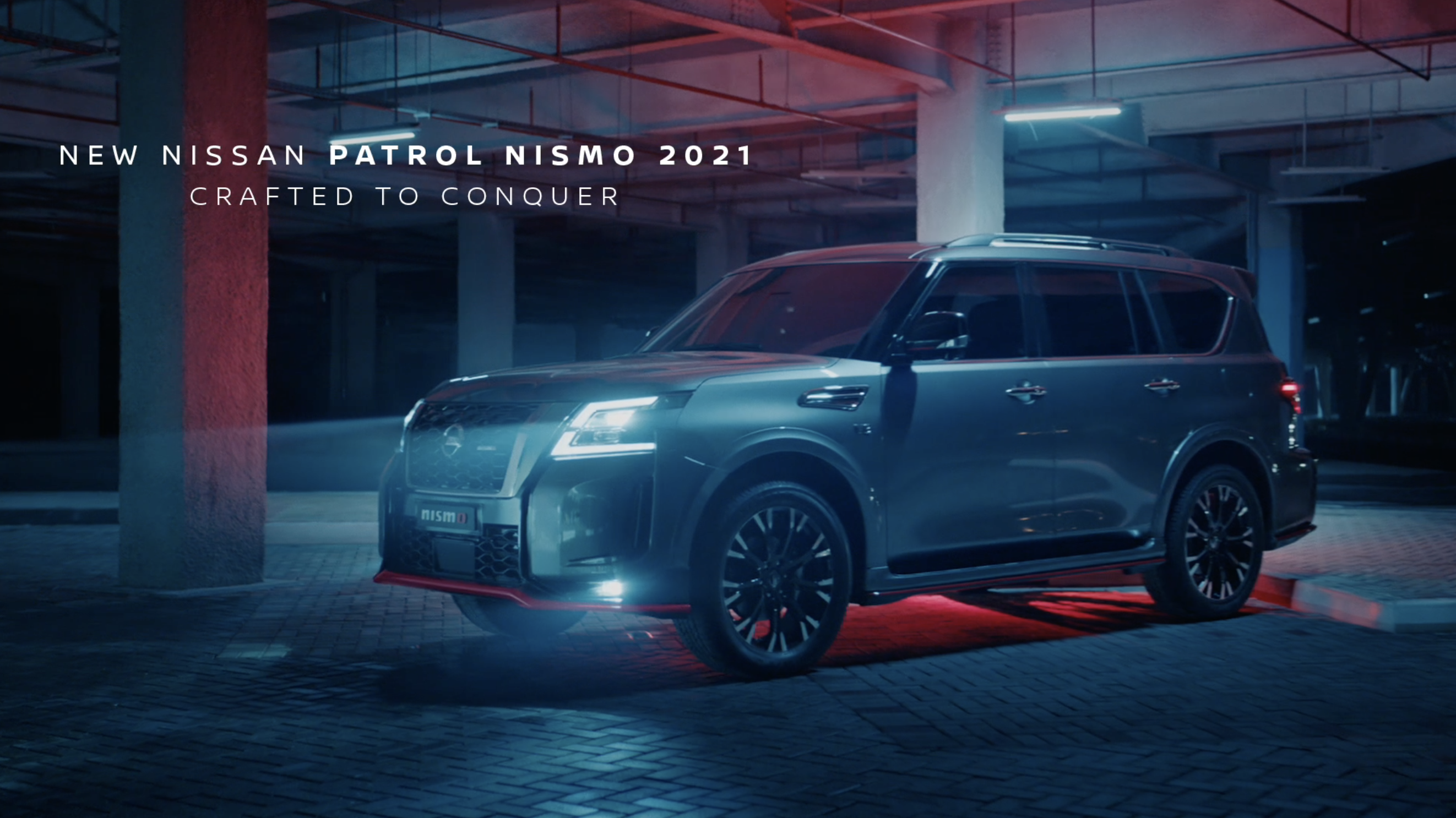 """Patrol NISMO """"Crafted to Conquer"""""""