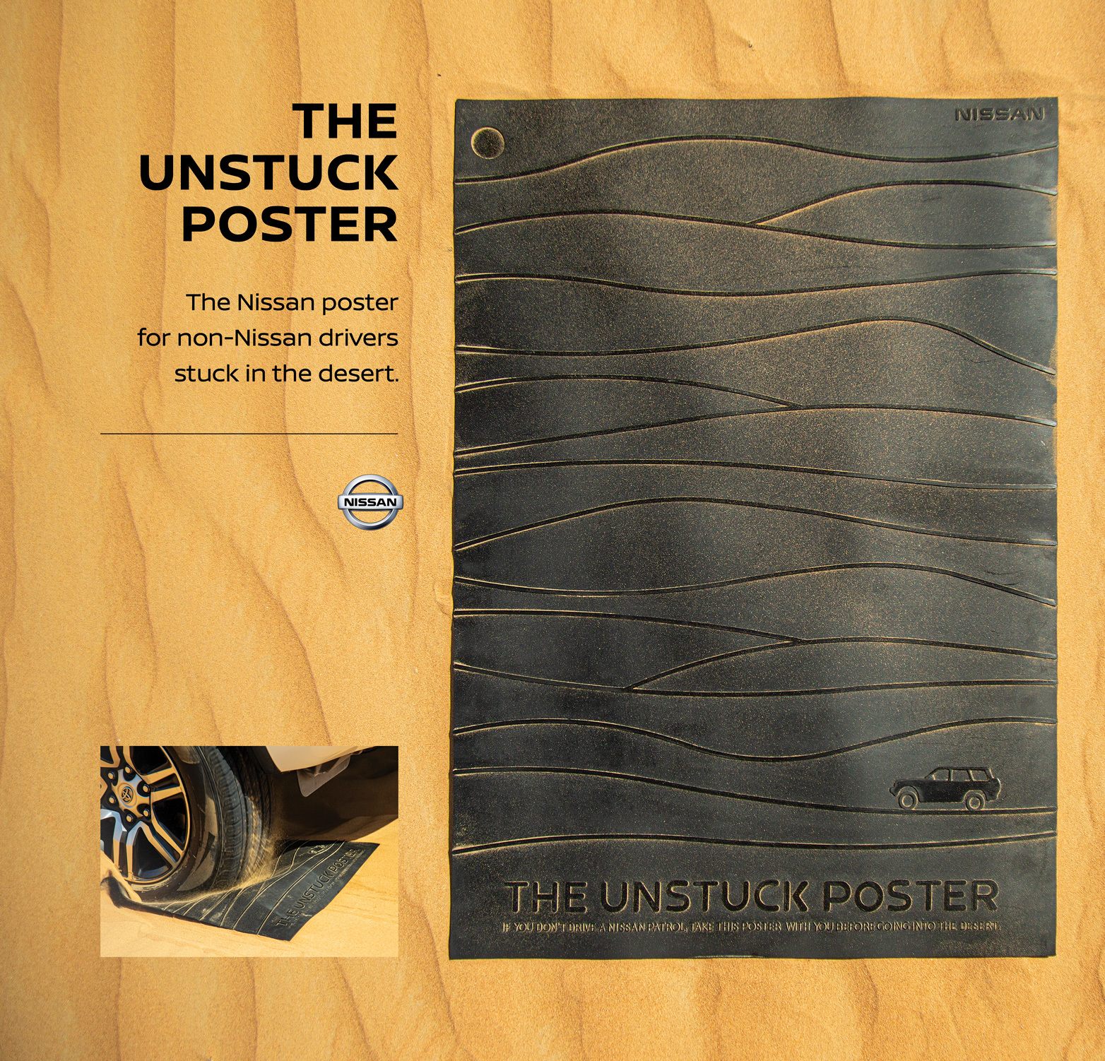 Nissan Unstuck Poster