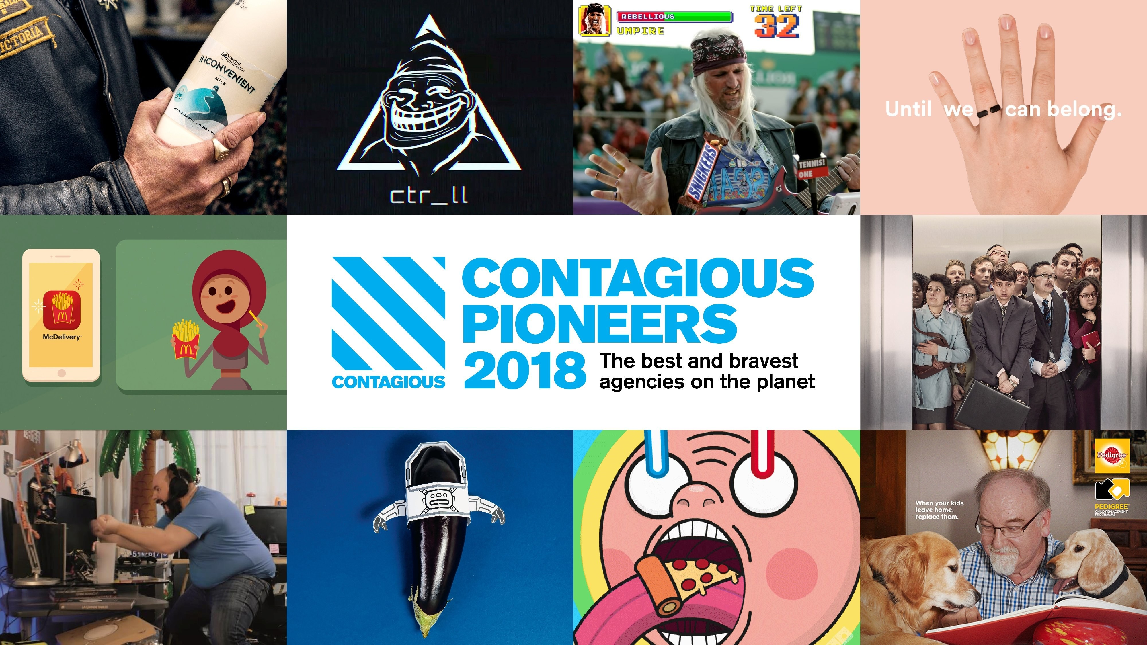 TBWA\RAAD Named one of Contagious Magazine's #ContagiousPioneers2018